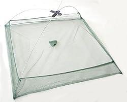 【 まとめて一網打尽 】 必殺 ボウズ逃れ 大漁捕穫網 四つ手網 小鰯 さより イカ 釣り 漁具 海 魚 道具 SD-FNET1000