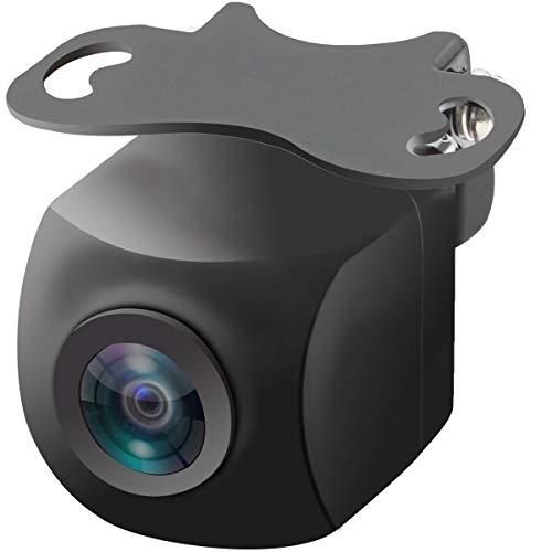 バックカメラ フロントカメラ/リアカメラ切替可能 真横見える広角カメラ 水平180°・垂直140°・視野258°超広角実現 SONY CCDセンサー採用で高画質100万画素 最低照度0.1lux夜でも見える超強暗視機能 12V-24V汎用 トラック用も可能 角度調整可能 世界基準IP69K高防水防塵 正像・鏡像切替 ガイドライン有り・無し切替 日本語マニュアル URVOLAX 36ヶ月保証有り