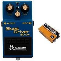 【9V電池DURACELL PROCELL 006P付】BOSS ボス BD-2W(J) Blues Driver WAZA CRAFT コンパクト・エフェクター ブルース・ドライバー