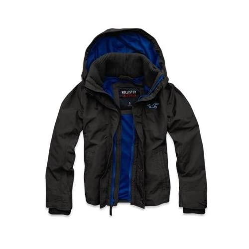 Hollister Co. ホリスター Hollister All-Weather Jacket [COLOR: グレー ][SIZE: L ] [並行輸入品]