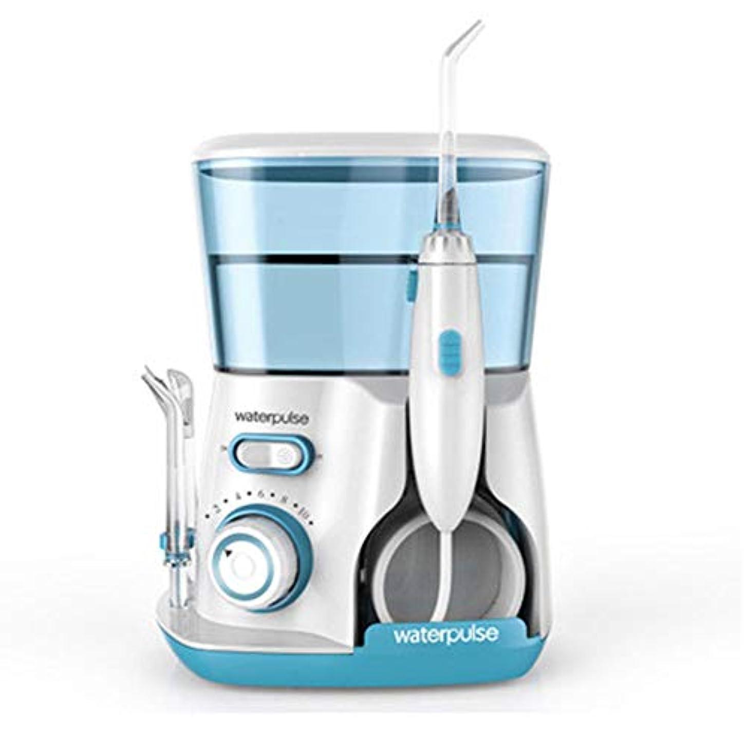 ヒントスカウトビヨン水の容量800mlの5つの多機能ヒントのカウンタートップ歯科口腔洗浄器でリークプルーフ電気静かな設計ホーム&トラベル (色 : Green)