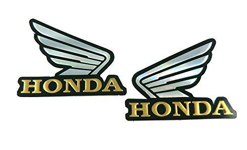 HONDA ホンダ メタリックホログラムステッカー 2枚セット MS030