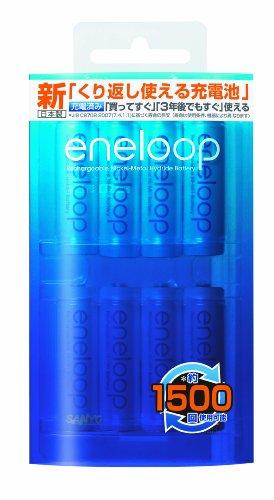 SANYO NEW eneloop 充電式ニッケル水素電池(単3形8個パック) [HR-3UTGA-8BP]