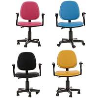 SONONIA  4個(4色) 1/6スケール 回転椅子 オフィス コンピュータチェア 12インチアクションフィギュア用