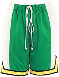 エピトミ ショーツ EPTM COLOR BLOCK BASKETBALL SHORTS EP8368 グリーン クリーム メンズ ボトム ショートパンツ バスケットショーツ