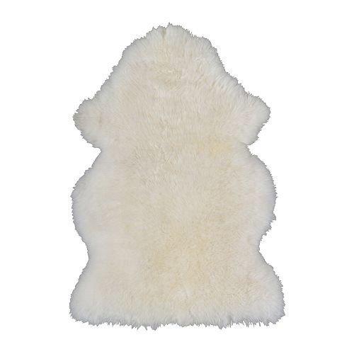 LUDDE ムートンラグマット 羊革 IKEA イケア