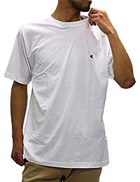 Champion(チャンピオン) Tシャツ 無地 胸 ワンポイント ブランド ロゴ マーク 半袖 メンズ