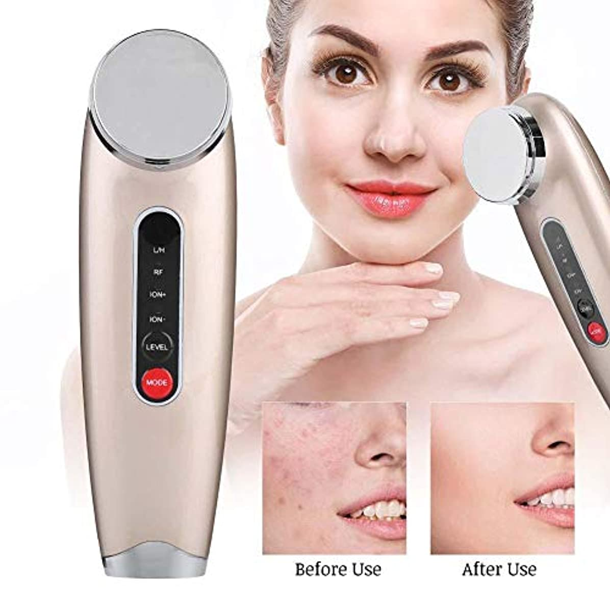 共役クリーナー制約フェイシャルビューティーマシーン - しわ、スキンケア用品、洗顔料、フェイシャルリフトを引き締め、肌を若返らせるために毛穴を縮めます