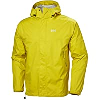 Helly Hansen Loke Lightweight Hooded Waterproof Windproof Breathable Rain Coat Jacket