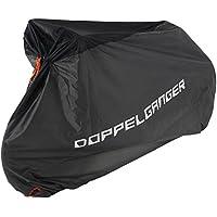 DOPPELGANGER(ドッペルギャンガー) スポーツバイク シティー車 対応 専用収納ケース付属 自転車用レインカバー ワイヤーロック用アイレット付 防水 防風 バイシクルカバー DCC373-BK
