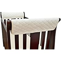 TL Care Organic Cotton Side Crib Rail Covers by TL Care [並行輸入品]