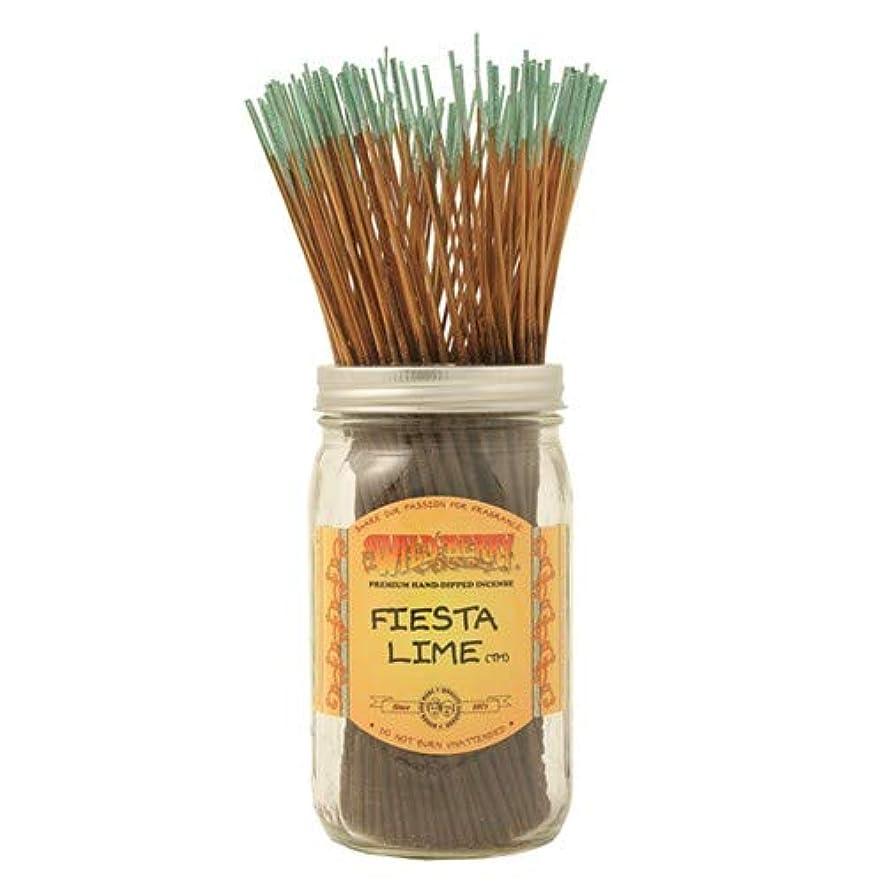 興奮する醜い嫌がらせFiesta Lime - 100 Wildberry Incense Sticks by Wild Berry
