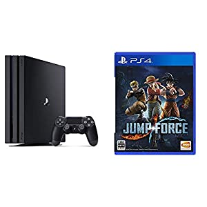 PlayStation 4 Pro ジェット・ブラック 1TB + 【PS4】JUMP FORCE セット
