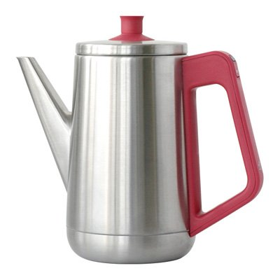 RoomClip商品情報 - ±0 Electric Kettle 0.5L プラスマイナスゼロ 電気ケトル [ レッド/XKY-V210(R) ]