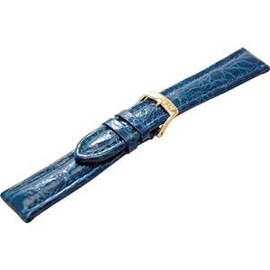 [モレラート]MORELLATO TIPO BREITLING 3 ティポ ブライトリング 時計ベルト 22mm ブルー クロコダイル時計ベルト U2120 052 065 022