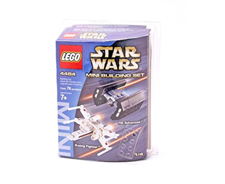 レゴ X-ウィング?ファイター&タイ?アドバンスド|4484 X-wing Fighter & TIE Advanced - Mini
