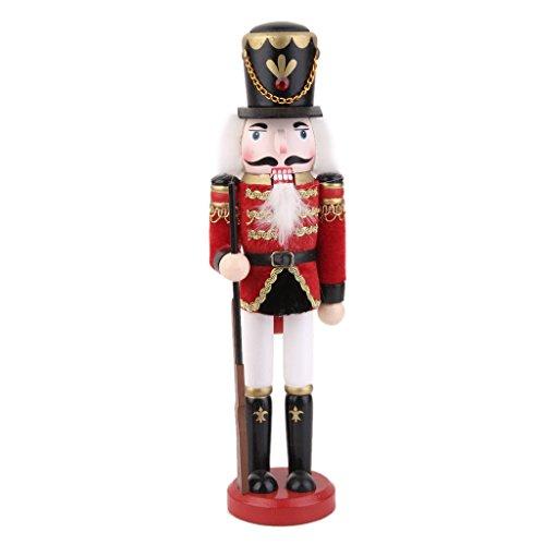 KOZEEY人形 兵隊 木製 おもちゃ クリスマス 誕生日 プレゼント