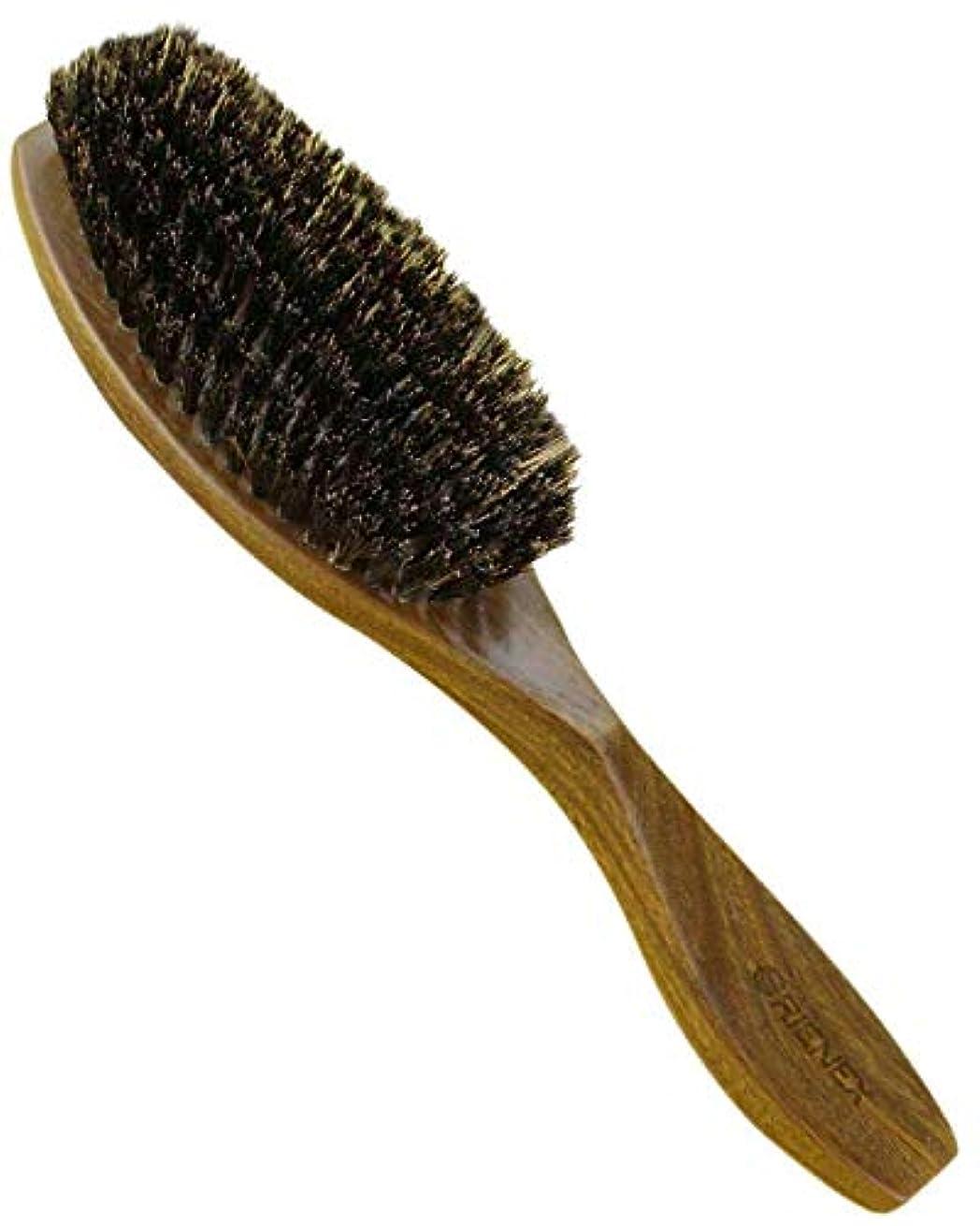 適度にトランスミッション緩むOrienex ヘアブラシ 豚毛 櫛 クシ くし 天然緑檀木 マッサージ 美髪ケア 静電気防止 母の日 ギフト(緑檀豚毛)