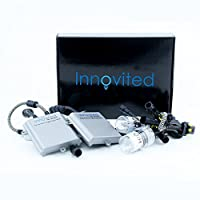 55W Innovited Performance HID Xenon Conversion Kit All Bulb Sizes and Colors with Digital Ballasts - H11 H9 H8-6000K [並行輸入品]