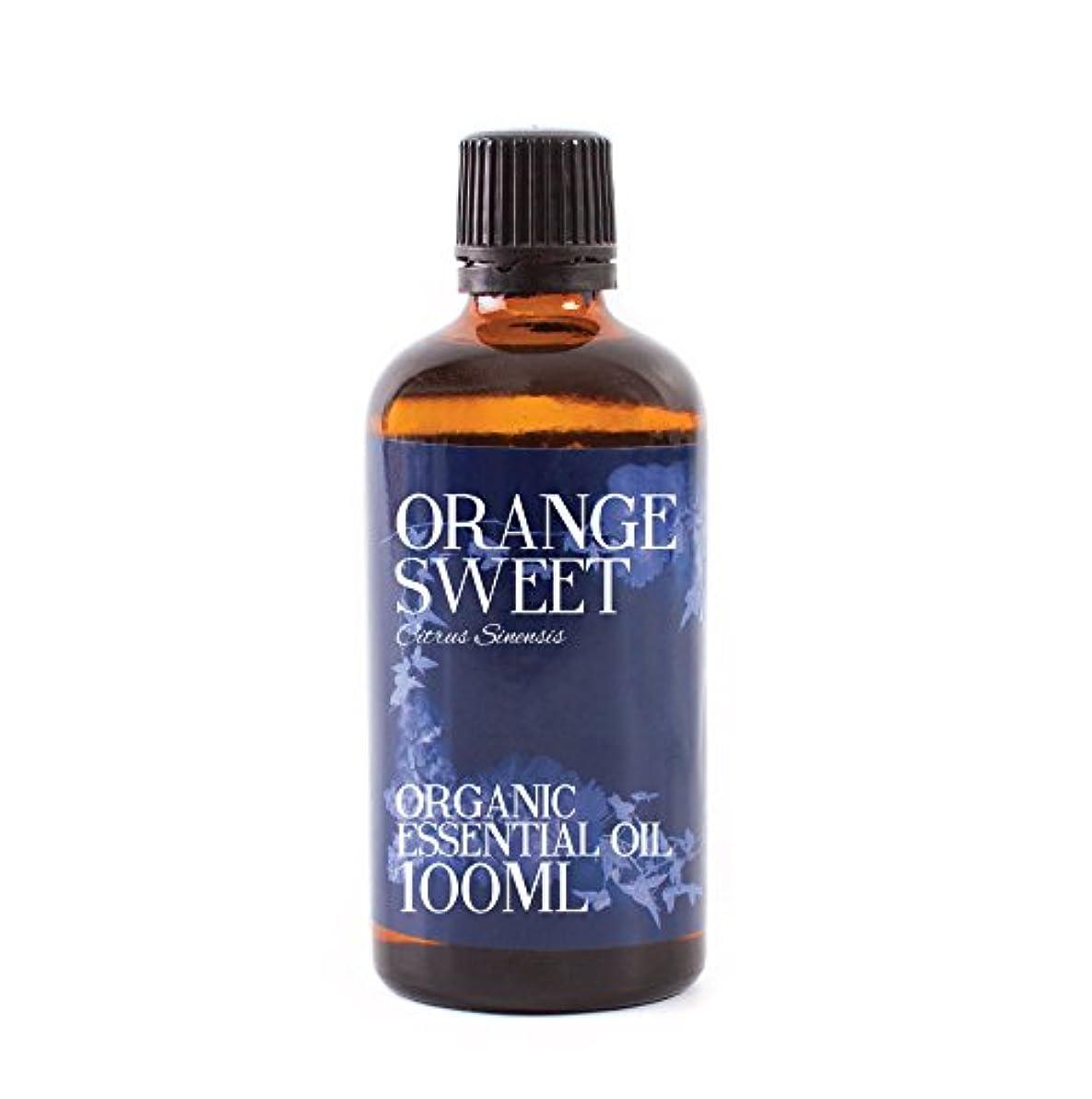 睡眠ビジュアル十分ですMystic Moments   Orange Sweet Organic Essential Oil - 100ml - 100% Pure