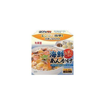 丸美屋 レンジで簡単 五穀ごはん 海鮮あんかけ 300g 1ボール(6個入)