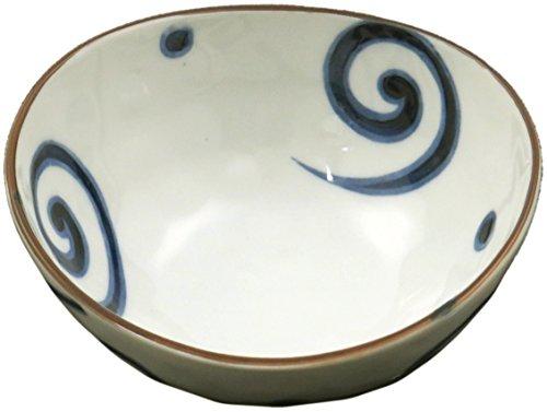 美濃焼 ダエン 鉢 うず 122-0222