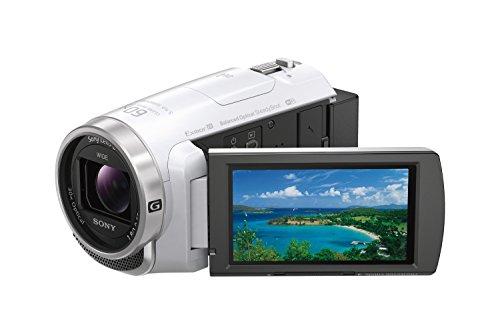 ソニー SONY ビデオカメラ HDR-PJ680 64GB 光学30倍 ホワイト Handycam HDR-PJ680 W -