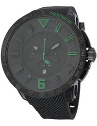 [テンデンス]Tendence 腕時計 ガリバー スポーツ クロノ 黒文字盤×グリーンインデックス 10ATM 50mm TT560003 メンズ 【並行輸入品】