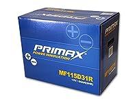 送料無料 即日発送 新品バッテリー MF115D31R 2年または4万km 製品補償 PRIMAX ~D31R 互換 65D31R 75D31R 85D31R 95D31R 105D31R 115D31R など 適合