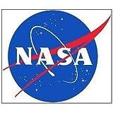 航空ステッカー NASA アメリカ航空宇宙局シール~スーツケース?タブレットPCに