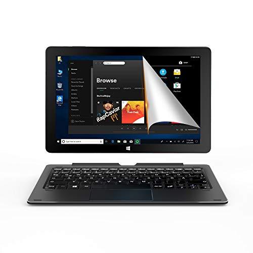 ALLDOCUBE iWork10 Pro 2-in-1タブレットPC キーボード付き 、10.1インチ 1920 x1200 IPSスクリーン、Windows 10+Android、Intel クアッドコア、4GB RAM、64GB ROM, ブラック
