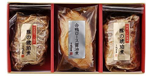 金沢浅田屋 豚の琥珀煮 鴨ロース
