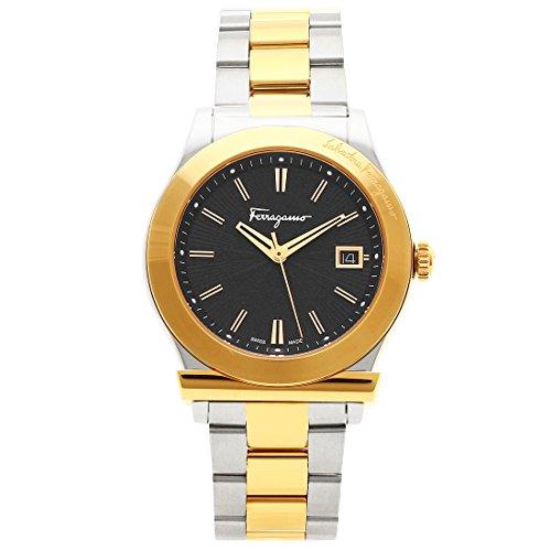 [フェラガモ] 腕時計 メンズ Salvatore Ferragamo F62LBQ9509S095-H シルバー イエローゴールド [並行輸入品]