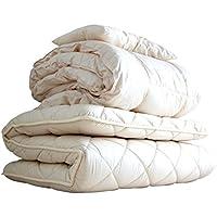 APHRODITA(アプロディーテ) 布団セット 3点セット(掛け布団 敷き布団 枕) シングル 防ダニ 超ボリュームタイプ 綿100% 日本製 アプロディーテ 寧々(NENE)