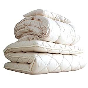 APHRODITA(アプロディーテ) 布団セット 「超ボリュームタイプ」 シングルセット(掛け布団 敷き布団 枕) 防ダニ 抗菌防臭 吸汗 速乾 日本製