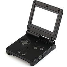 任天堂Gameboy Advance SP用交換セット シェルケース+レンズ+スクリュードライバーキット ブラック GBA SP