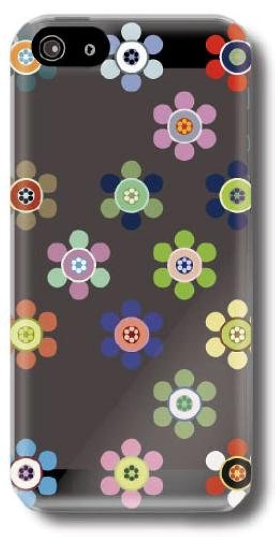 相反するテラス倫理【Paiiige】ハナマルアメ (クリア)/ for iPhone5/softbank専用ケース SFIPN5-101-A031