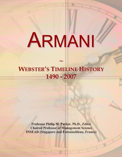Armani: Webster
