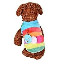 Stheanooかわいい犬のベスト子犬暖かい服セーター小さな子犬のシャツソフトペット猫のコートペット用品