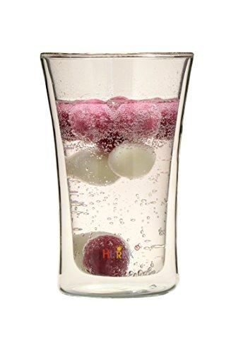 Hurex 耐熱ダブルウオール ビアグラス 2個セット