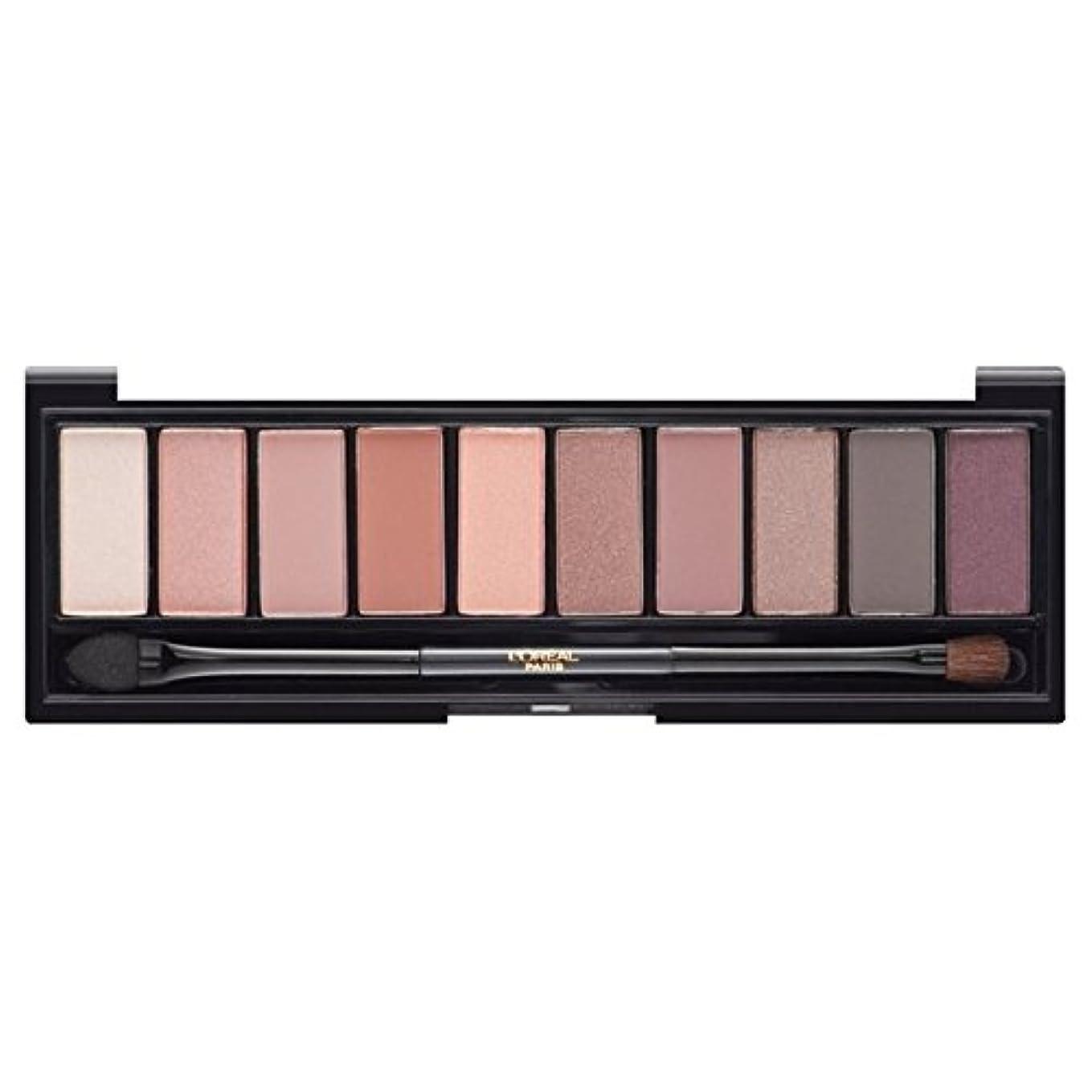 松教会運動L'Oreal Paris Color Riche La Palette Eyeshadow, Nude Rose - ロレアルパリカラーリッシュ?ラ?パレットのアイシャドウ、ヌードバラ [並行輸入品]