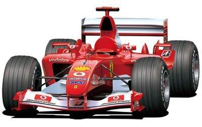 フジミ模型 1/20 グランプリシリーズ No.23 フェラーリF2003-GA 日本/イタリア/モナコ/スペイングランプリ プラモデル