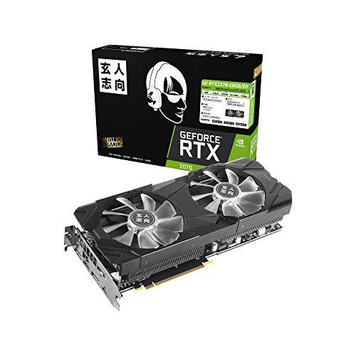 玄人志向 NVIDIA GeForce RTX 2070搭載 ビデオカード GALAKURO 8GBモデル GF-RTX2070-E8GB/DF