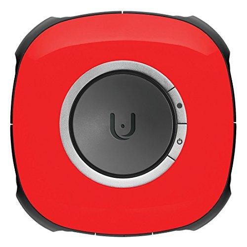 Vuze VR Camera 3D 360° 4K ウェアラブルカメラ 高画質 防滴 防塵 (レッド)