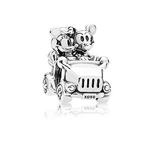 [パンドラ] PANDORA Disney, Mickey & Minnie Vintage Car チャーム (シルバー) 正規輸入品 797174