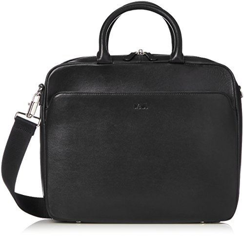 [ナヴァ・デザイン] Milano Briefcase small MI083 Black