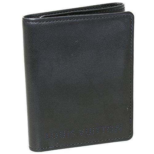 (ルイ・ヴィトン) LOUIS VUITTON 三つ折り財布 トリフォルド シカゴ 黒 M95787