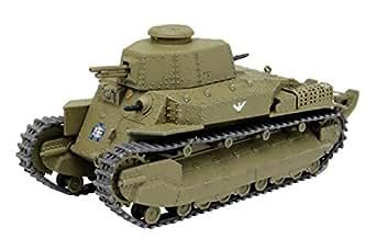 プラッツ ガールズ&パンツァー劇場版 八九式中戦車甲型 アヒルさんチーム 1/72スケール 全長約80mm プラモデル GP72-13