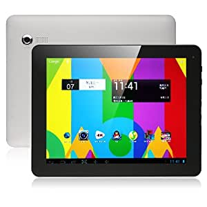 Ployer momo19HD Quad Core A31 タブレット PC 9.7 インチRetina Screen Android 4.1 搭載2G Ram 4K(4096 x 2160 px)Video Googleプレイ対応 GPS対応 OTG機能対応!Allwinner A31 (シルバー)