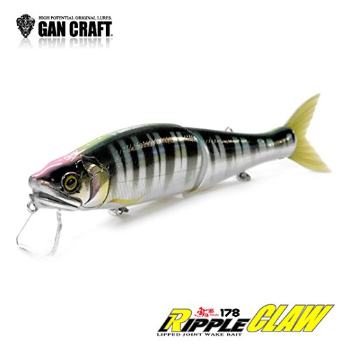 ガンクラフト リップルクロー 178 【魚矢カラー】 GAN CRAFT RIPPLE CRAW 06 クリスタルシャッド フローティング